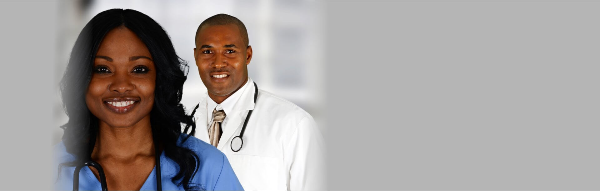 two medical staff